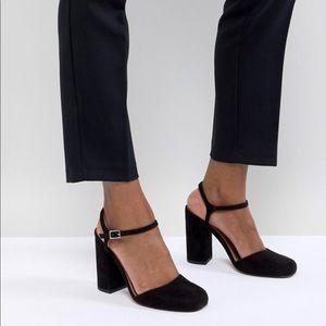 ASOS penny heels